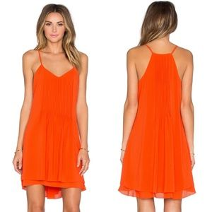 Sanctuary ; spring fling dress poppy red orange M